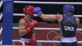 Boxing Men's Light Heavy (81kg) Semifinals - KAZ v UKR Full Replay - London 2012 Olympics