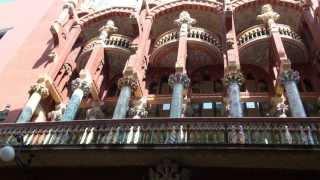 El MODERNISME Palau de la Música Catalana (Barcelona)