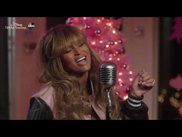 Ciara's Disney Sing-A-Long, Hair By Kiyah Of Course!