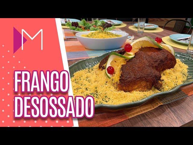 Frango desossado no micro-ondas - Mulheres (13/02/2019)