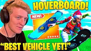 Tfue Reacts To *NEW* HOVERBOARD GAMEPLAY! - Fortnite Funny Fails and WTF Moments