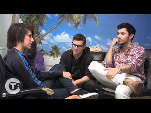The Cataracs and Dev creating Like A G6 in the studio
