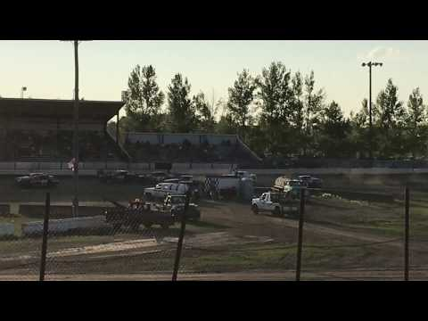 Jamestown Speedway Street Stock Heat #2