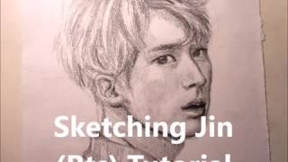 Sketching Jin Bts Tutorial