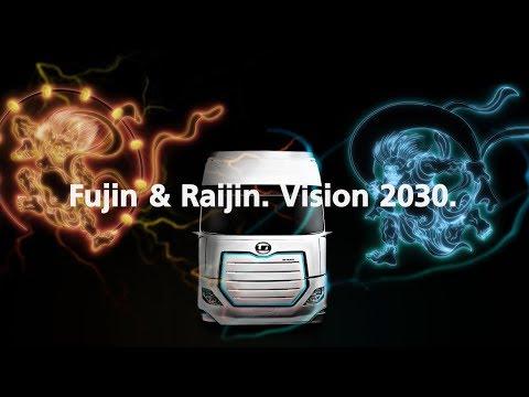 Innovation for Smart Logistics - Fujin & Raijin. Vision 2030.