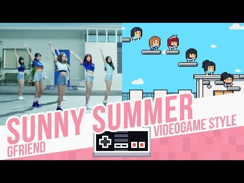 SUNNY SUMMER, GFriend - Videogame Style - 8 Bits