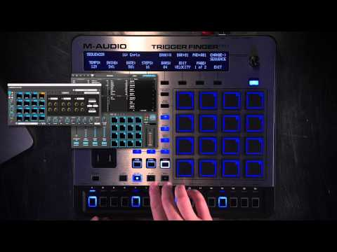 M-Audio Trigger Finger Pro Overview 3 of 3 - Step Sequencer