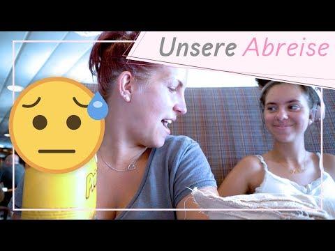 Der Abreisetag / Eine mega lange Nachtfahrt / 13.8.18 / FRAU SEIN