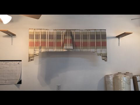 How to make a bell style valance (Part 1 of 2)