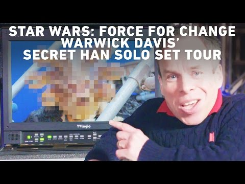Warwick Davis' Secret Han Solo Set Tour