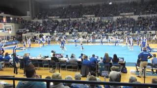 University of Kentucky Cheerleading White Squad 2013-14 Routine Highlights