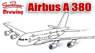 How to draw an Airbus A 380 - Spoken Tutorial