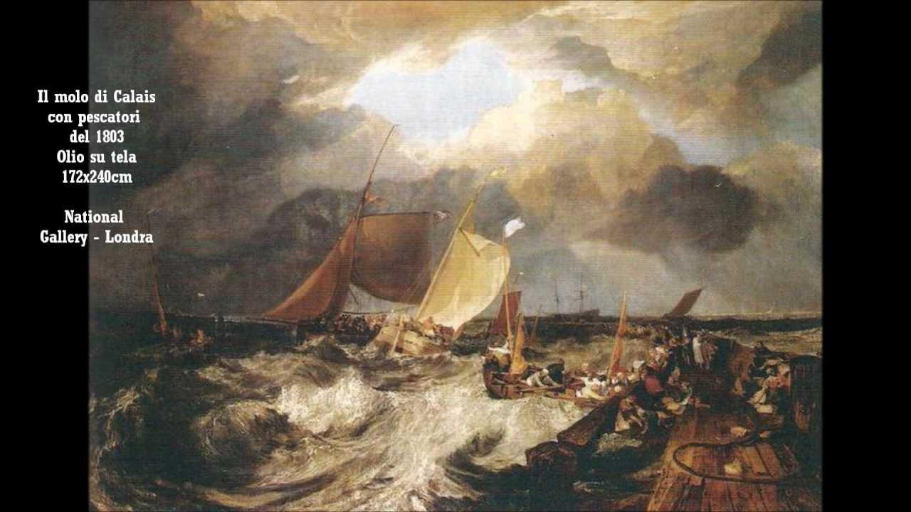 William Turner opere tra le pi importanti dal 1775 al