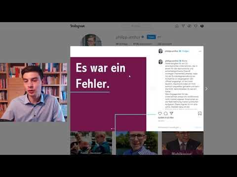 Philipp Amthor käuflich? - Rhetorik Analyse des Statements