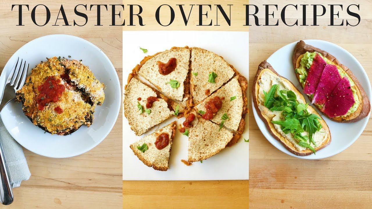 Healthy toaster oven recipes easy vegan youtube healthy toaster oven recipes easy vegan forumfinder Gallery