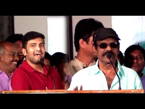 Goundamani and Santhanam funny speech in Enakku Vera Engum Kilaigal Kidaiyathu Audio Launch