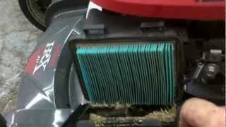 HOW TO SERVICE OUT YOUR HONDA HRX217    basic maintenance procedures(in this informative video watch as the mm1 services out a honda lawn mower for preseason use or winter storage how to sharpen lawn mower blades ..., 2012-06-19T13:56:49.000Z)