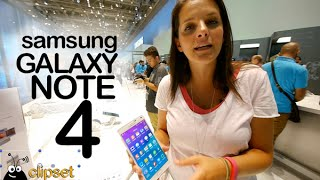 Samsung Galaxy Note 4 preview IFA Videorama