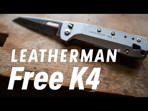 Leatherman FREE Pocket Knife: Magnetic 'K Series' First Look