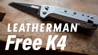Leatherman FREE Pocket Knife: Magnetic 'K Series' First Look