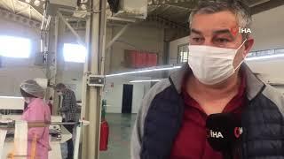 Kastamonu'da Tekstil Firmaları Maske Üretimine Başladı