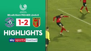 HIGHLIGHTS Dynamo Brest 1 2 Slavia Mozyr Belarusian Premier League