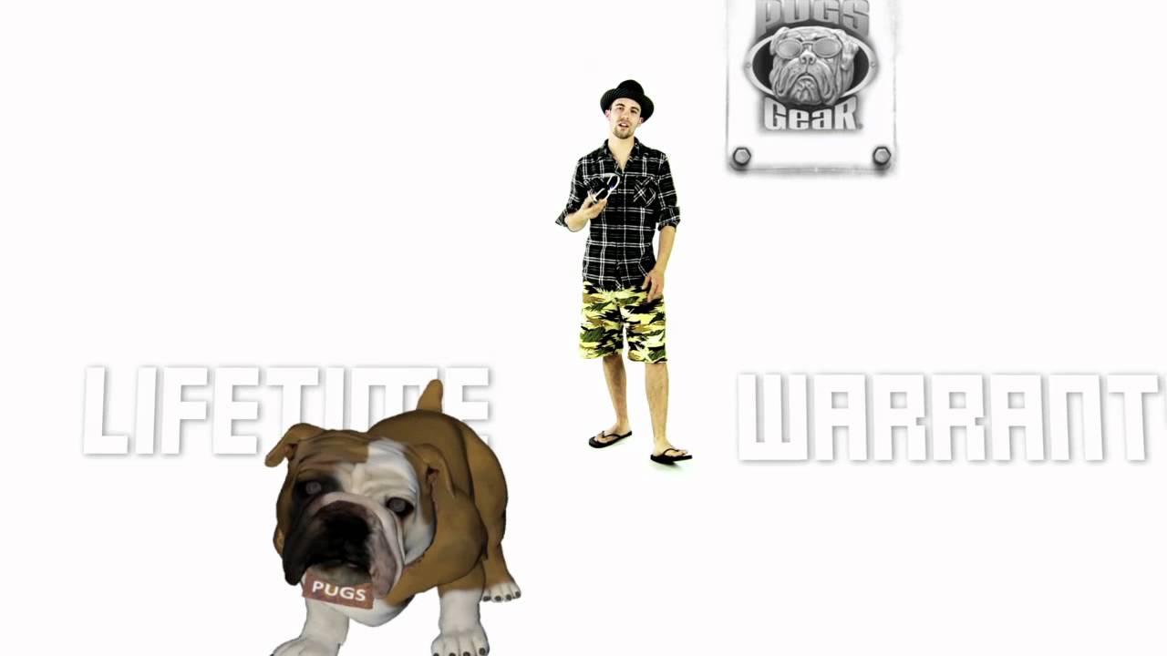 7cf40e17f0f Pugs Gear Lifetime Warranty - YouTube