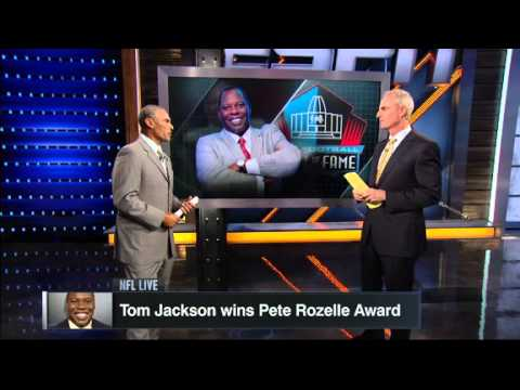 Tom Jackson wins NFL HOF