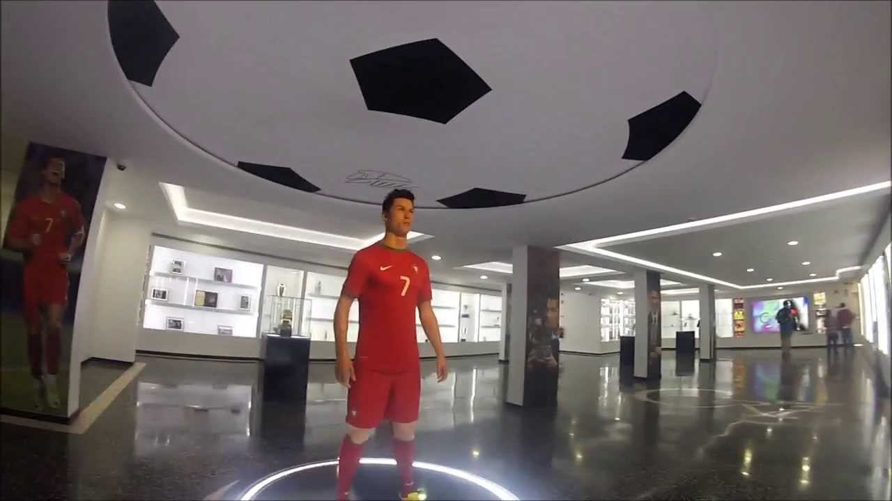 CR7 Museum Tour Ronaldos Ballon DOr Golden Boot All Trophies