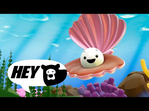 Hey Bear Sensory - Under The Sea - Relaxing Animation With Music