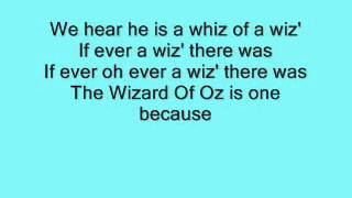 The Wizard Of Oz: We