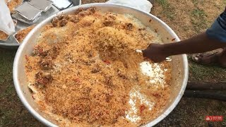 Tasty Fish Biryani prepared in my village || eatspot