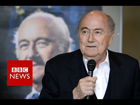 Sepp Blatter accuses Gianni Infantino of disrespect - BBC News