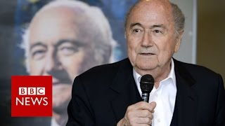Sepp Blatter accuses Gianni Infantino of disrespect   BBC News