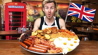 THE ULTIMATE ENGLISH BREAKFAST CHALLENGE!