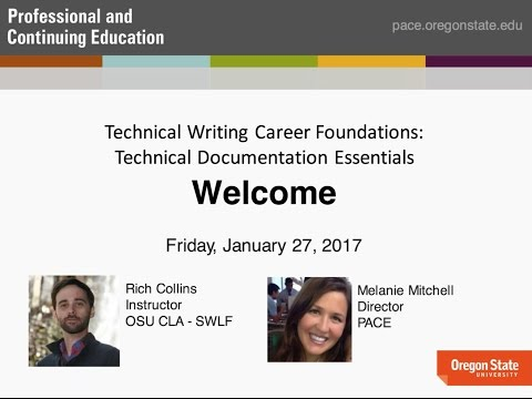 Technical Writing Webinar - Technical Documentation Essentials