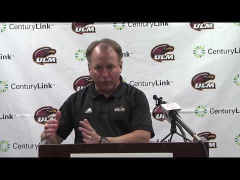 ULM Football Press Conference: South Alabama Game Week (Head Coach Matt Viator)