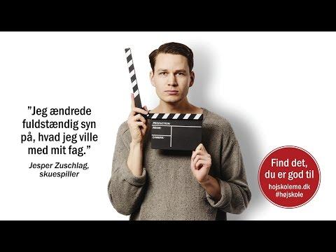 Jesper Zuschlag fortæller om sit højskoleophold