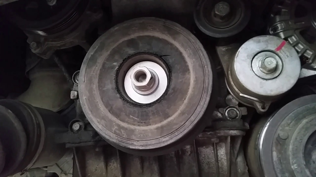 harmonic balancer fault on d4hb 2 2l turbo diesel of a