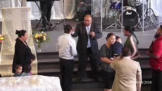 Gateway Ministries - Rev Tauese Fatialofa during Ministry/Altar Call