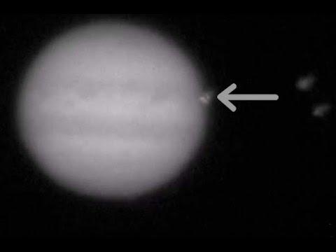 Jupiter Collision! Impact Burst Captured By Amateur Astronomer | Video