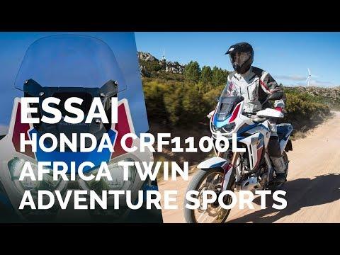 Essai Honda CRF1100L Africa Twin Adventure Sports