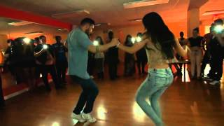 ▶ Daniel and Desiree   Sensual Bachata at Ferocity Dance Company