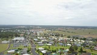 Drone flying over Dubbo Australia my furthest flight to date 2km fro m take off point