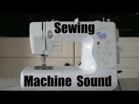 Sewing Machine Sound Effect Best Audio Quality YouTube Cool Sewing Machine Sound