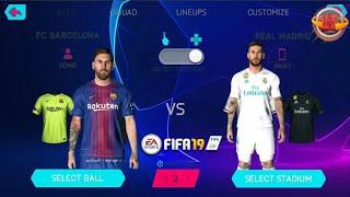 FIFA 19 MOBILE LITE ANDROID OFFLINE MOD UCL MENU BEST DOWNLOAD 18/19 [APK,OBB,DATA] ❞