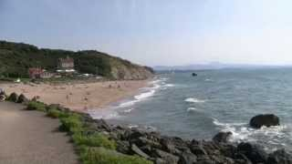 Plage d' ilbarritz bidart Biarritz