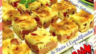 Faça torta salgada em minutos usando o ( Liquidificador ) Torta mista thumbnail
