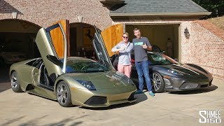 Visiting VINwiki's Garage with a Unique Lamborghini LP640!