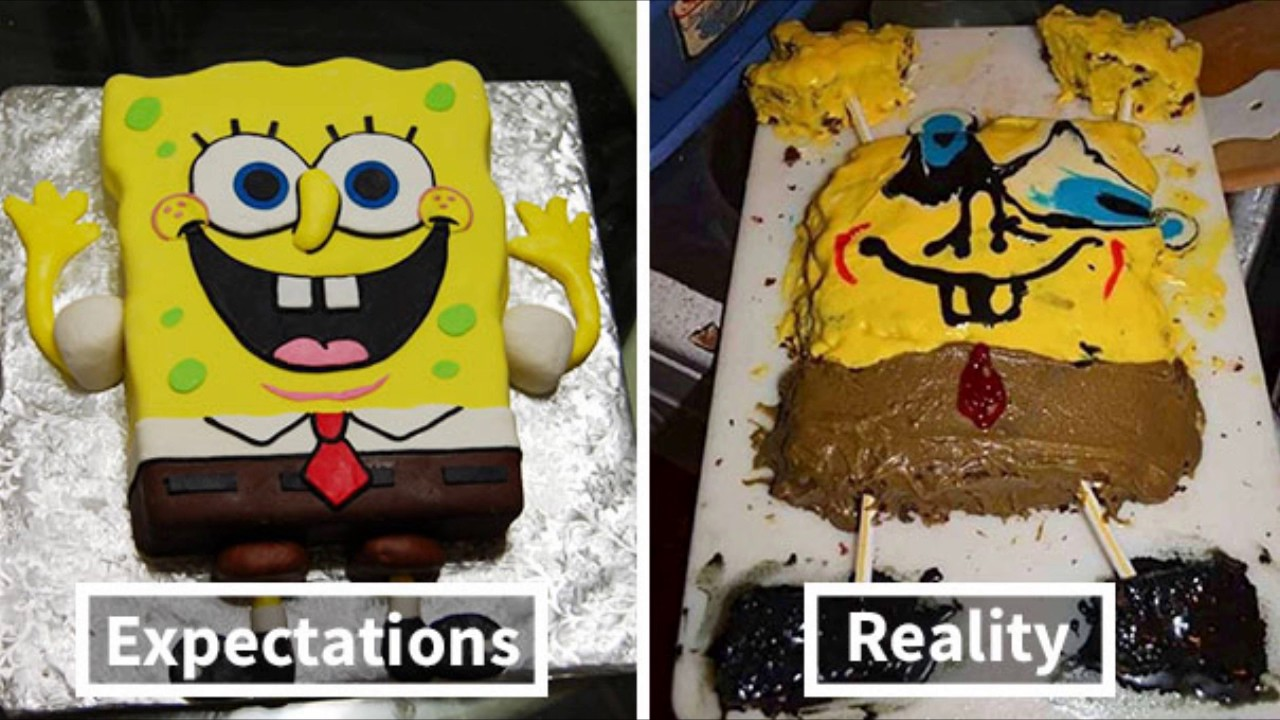 How To Make Spongebob Cake Youtube